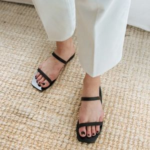 A.EMERY Lola Sandals in Black
